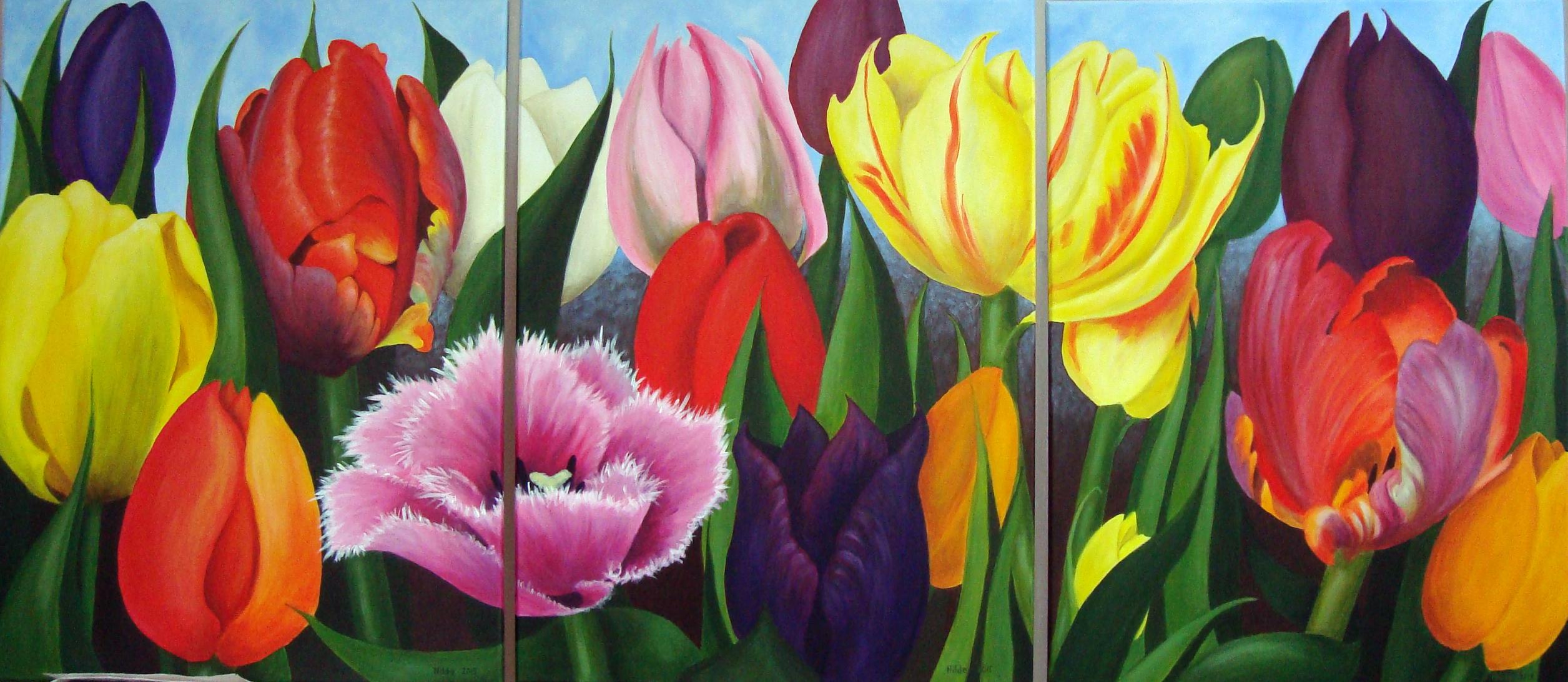 Acryl schilderijen bloemen dr48 aboriginaltourismontario for Schilderijen van bloemen